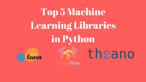 python libraries for machine learning