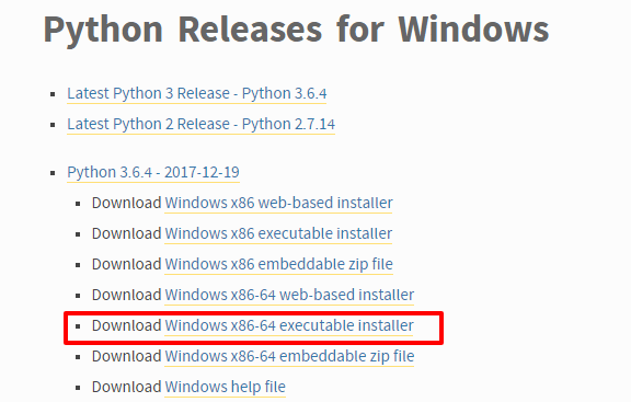 Python Releases for Windows Python org